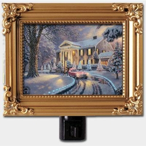 Graceland Christmas Framed Nightlight