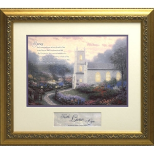 Blossom Hill Church Large Inspirational Print