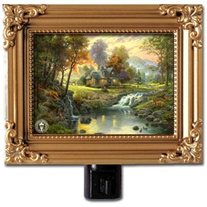 Mountain Retreat Framed Nightlight