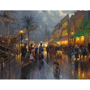 Evening on the Strand by Mark Keathley