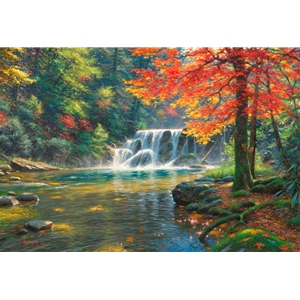Tranquil Falls by Mark Keathley