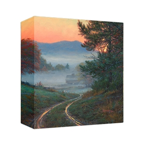 Morning in Cades Cove - Gallery Wrap