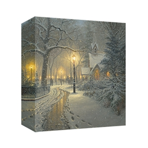 Winter Chapel by Mark Keathley - Gallery Wrap