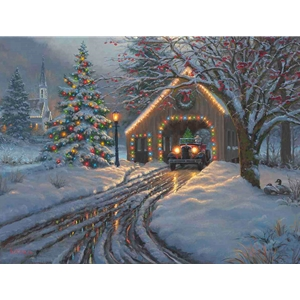 Christmas  Crossing by Mark Keathley