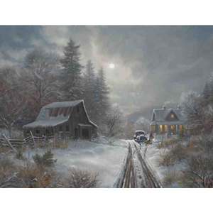 Winter Homeplace by Mark Keathley