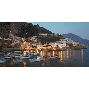 Amalfi Lights by Rod Chase