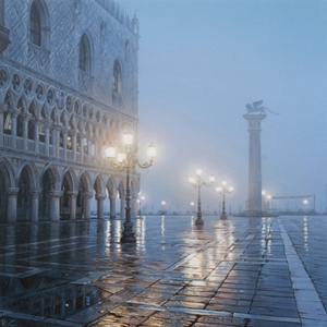 Piazza San Marco by Rod Chase