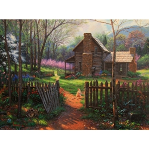 Welcome Spring  by Mark Keathley - Gallery Wrap