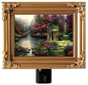 The Garden of Prayer Framed Nightlight