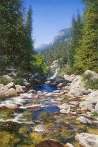 Abundant Waters by Larry Dyke