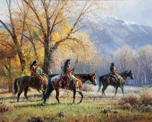 Apsaroke Autumn by Martin Grelle