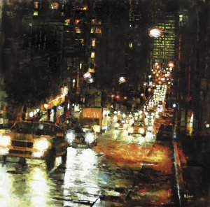 Bay Hill Lights by Mark Lague