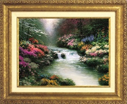 Beside Still Waters Classic 8x10 Gold