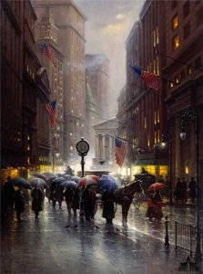 Canyon of Dreams - Wall Street by G. Harvey