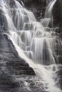 Falling Water I by Larry Dyke