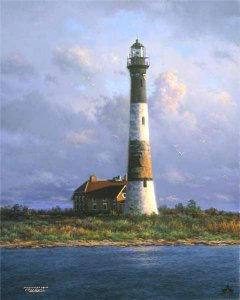 Fire Island Light by Larry Dyke