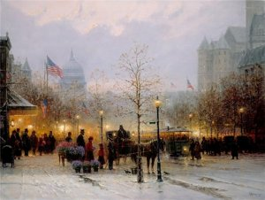 Inauguration Eve by G. Harvey