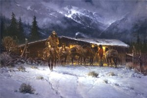 Leaving the High Country  by G. Harvey