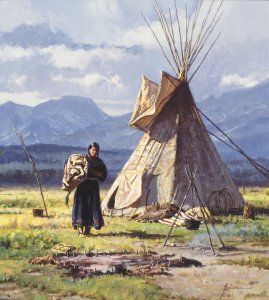 Morning Chores by Martin Grelle