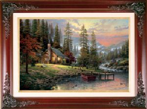 Peaceful Retreat Classic 12x16 Brandy