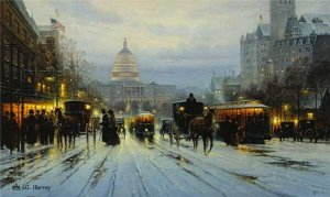 Pennsylvania Avenue by G. Harvey