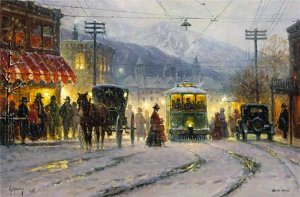 Pikes Peak Trolley by G. Harvey
