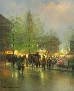 Quincy Market by G. Harvey