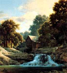 Shady Creek Mill by Larry Dyke