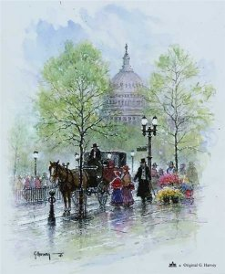 Springtime in Washington by G. Harvey