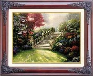 Stairway to Paradise Classic 12x16 Brandy