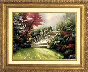Stairway to Paradise Classic 12x16 Gold