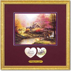 Stepping Stone Cottage Inspirational Print