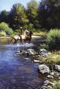Still Water Crossing by Martin Grelle