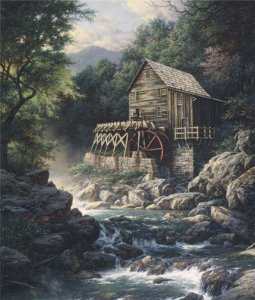 Stoney Creek Mill by Larry Dyke