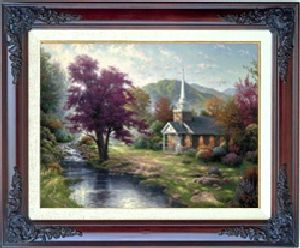 Streams of Living Water Classic 12x16 Brandy