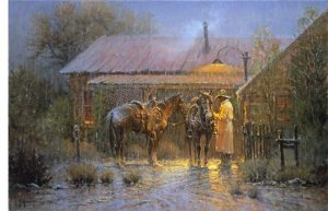 Texas Rancher by G. Harvey