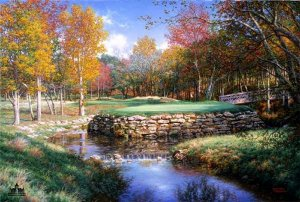 The 13th at Valhalla by Larry Dyke