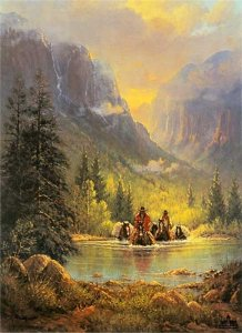 The American West by G. Harvey