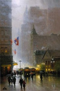The Lights of Broadway by G. Harvey