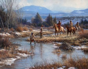 Trappers in the Wind Rivers by Martin Grelle
