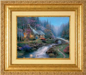Twilight Cottage Classic 8x10 Gold