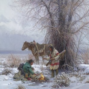 Warming Fire by Martin Grelle
