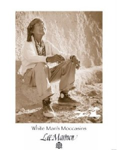 White Man's Moccasins by Lee Marmon