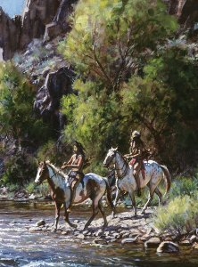 Whitewater Crossing by Martin Grelle