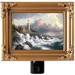 Conquoring the Storms Framed Nightlight