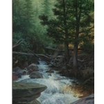 Greenbriar II by James Seward 24x18 -Original