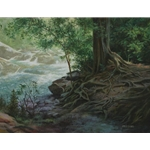 Greenbriar III by James Seward 18x24 -Original