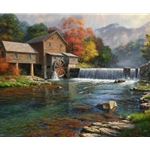The Old Mill by Mark Keathley