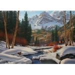 Winter Retreat by Mark Keathley