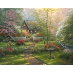 Dogwood Cottage by Abraham Hunter